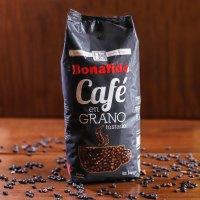 CAFÉ EN GRANO NEGRO x 1 Kg marca Bonafide